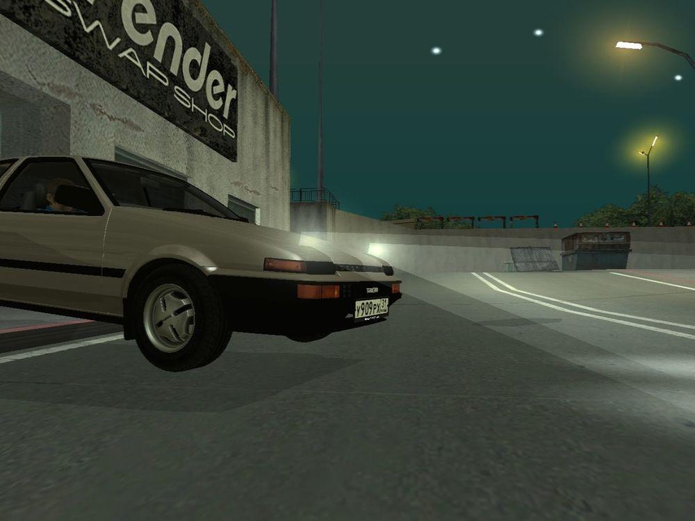 Фары на AE86